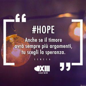 HOPE: speranza