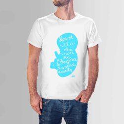 """T-shirt """"Ogni vita è degna di essere vissuta"""" – Man"""