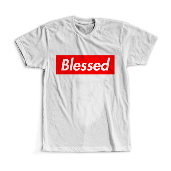 "T-shirt ""Blessed"""