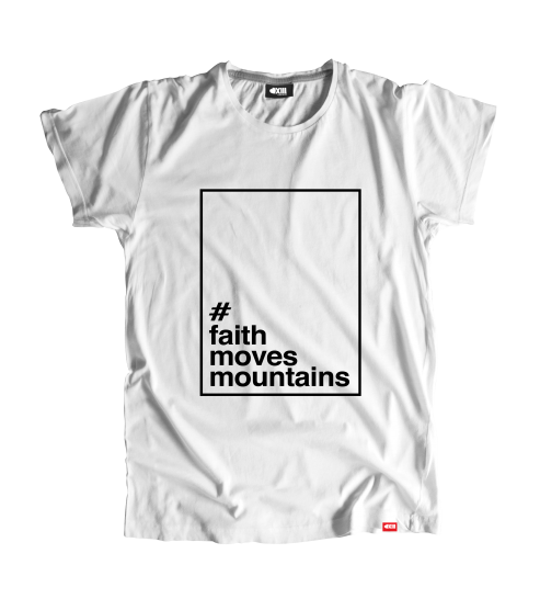 T-shirt #FaithMovesMountains
