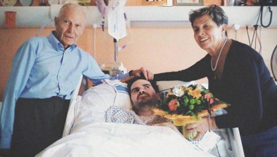 Vincent Lambert con i genitori