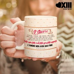 "Tazza ""Inno all'amore"" by Corxiii"