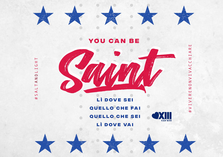 You can be saint (Lì dove sei) …altro che Sanremo!